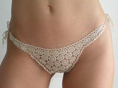 Crocheted underwear!!! Love it.  Someday I will do this.