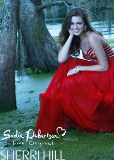 Sadie Robertson Live Original by Sherri Hill 11074