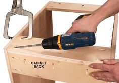 AW Extra 7/5/12 - Tips for Building Cabinets with Pocket-Hole Joinery - Popular Woodworking Magazine