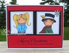Card for Aug 19 challenge  Inkingly Yours Merry Christmas To You, Sketch, Challenges, Paper Crafts, Frame, Cards, Fictional Characters, Decor, Sketch Drawing