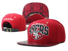 a323c3d5c NFL-San Francisco 49ers Mitchell And Ness Red snakeskin 110 8332! Only   8.90USD
