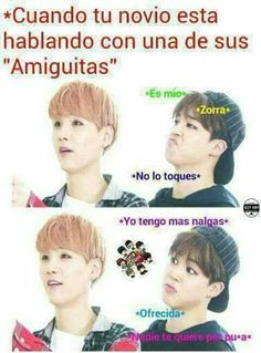 Read 10 c: from the story Memes de BTS by with reads. Hoseok Bts, Bts Taehyung, Bts Bangtan Boy, Bts Jimin, K Pop, Yoonmin Fanart, Vkook Memes, Kdrama Memes, Friend Memes