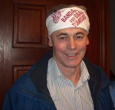 I'M WEARING MY BANDANA for Frances. 'Never ours to keep, always ours to love'  ~  John