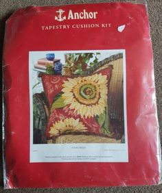Anchor-tapestry-cushion-kit-SUNFLOWERS