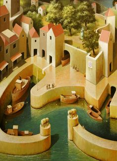 Michiel Schrijver - Day of arrival. 110 x 80 cm. 2010