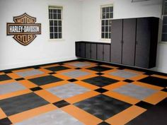 Harley-Davidson Decked Garage | I Love Harley Bikes