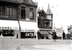 Chanel in Biarritz (Atlantic Coast - France) 1915 Séeberger