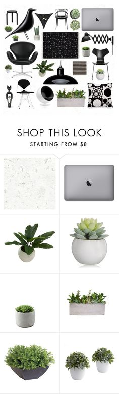 """Minimalism"" by couchpotatocompany ❤ liked on Polyvore featuring interior, interiors, interior design, home, home decor, interior decorating, Kaiser, Maharam, Threshold and Ethan Allen"