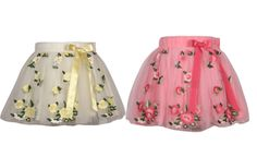 #Cutecumber Embroidered #Baby Girl's A-line #Skirt @ Rs 985 Only