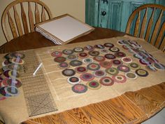 Penny Rugs and More: The Makings of a Penny Rug, by Colleen MacKinnon with tutorials