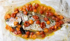 Our traditional Baked Snapper in acqua pazza recipe is light but packed with flavour of sweet cherry tomatoes, white wine, capers, garlic, herbs and let's not forget the acqua pazza (Italian for 'crazy water'). This is a delicious recipe and ready in just 40 minutes – Try it today!