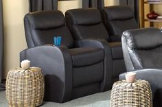 Seatcraft Rialto Back Row Home Theater Seating   4seating