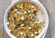 Kreikkalainen makaronilaatikko Feta, Macaroni And Cheese, Ethnic Recipes, Mac And Cheese