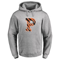 Princeton Tigers Classic Primary Logo Pullover Hoodie - Ash