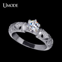 Fashion Jewelry Womens Accessories Party Ring Marquise Cut Cubic Zirconia Finger Rings Anelli AUR0301 Like if you remember www.pros-fashion.... #Jewelry #shop #beauty #Woman's fashion #Products