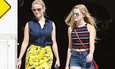 Reese Witherspoon enjoys a girls' day out with daughter Ava