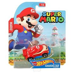 Super Mario Brothers Character Car Hot Wheels Diecast 2016 for sale online Cars Characters, Sonic Fan Characters, Super Mario Brothers, Super Mario Bros, Hot Wheel Autos, Boy Car Room, Caleb, Logan, Mattel Shop