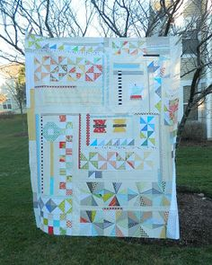 Finished Puzzle Quilt Top by s.o.t.a.k handmade