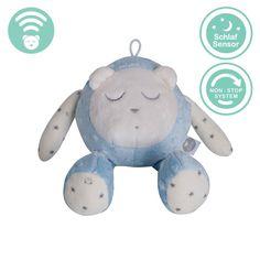 myHummy Mascotte qui dort avec capteur de sommeil - bleu