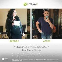 So proud of this girl ! So awesome to see our products working in people's l. by Keller It Works Global, My It Works, It Works Marketing, Skinny Coffee, It Works Distributor, It Works Products, Wellness Company, Crazy Wrap Thing, Be Your Own Boss