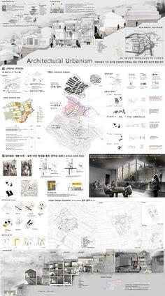Architectural Presentation/ Content Board
