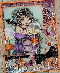 Sweet Pea Stamps: ching-chou kuik's Fantasy Art Collection- Sheet #11