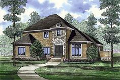 Contemporary Traditional House Plan 82153