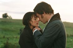 Keira Knightley and Matthew MacFadyen, Elizabeth Bennet and Mr. Darcy, Pride and Prejudice, 2005