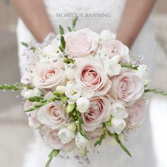 Hochzeit ♡ Pink bridal bouquet ceremony celebrations Pink bridal bouquet # Bouquet N Bouquet Bride, Rose Bridal Bouquet, Bride Flowers, Wedding Flowers, Rose Wedding, Purple Bouquets, Pink Bouquet, Flower Bouquets, Baby Bouquet