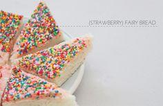 Strawberry Fairy Bread