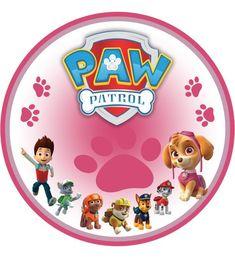 Kit Digital para Festa Patrulha Canina ROSA Paw Patrol Birthday Cake, Paw Patrol Party, Dog Birthday, Escudo Paw Patrol, Imprimibles Paw Patrol, Paw Patrol Decorations, Paw Patrol Cake Toppers, Cumple Paw Patrol, Paw Patrol Pups