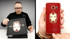 Remember the super-rare Iron Man Edition Galaxy S6 Edge? Yeah, we'd love one too...  Lew from UnboxTherapy is giving you the chance to actually win one of the 1000 units available, so check out his video for more details!