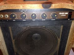 Rare Vintage SLM Crate CR-1RD 1RD Guitar Amp Amplifier Deluxe Reverb | eBay