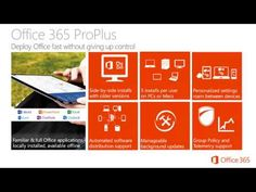 This week we take a first look at Office 365 Video. Jeremy is again joined by Mark Kashman to give overview of Office 365 Video, the new enterprise video ste...