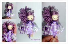 Broche de muñeca/Doll brooch, Bisutería, Broches