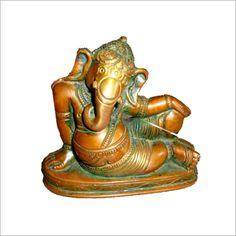 Sitting Ganesh Statues,Hindu Lord Ganesh,Ganesha Bronze Statues