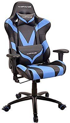 amazon com happygame racing gaming chair ergonomic high back pu rh pinterest com