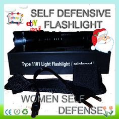 SALE Flashlight with Newest Model 1101 + 2014 Self Defense