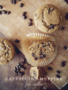 Cappuccino chocolate chip muffins