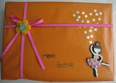 Gift Pack decorated using doll embellishment.You can enhance the dress of the doll by sticking some crystal stickers .The rest is all upon your creative mind :)