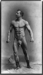 First Bodybuilder Ever!