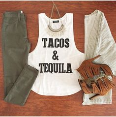 Taco Tuesday Outfit !