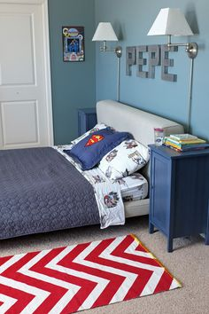 """not too """"kiddy"""" kid's room - Teal and Lime blog"""