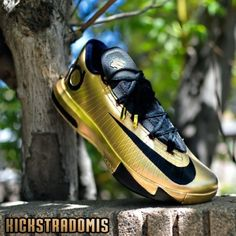 "d3daab5244a1ad Nike KD VI (6) ""Road to the Gold"" Customs by Kickstradomis Kd"