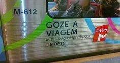 Metro de Lisboa circula desde 2012, sem travões de emergência!