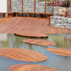 There are lots of pergola designs for you to choose from. You can choose the design based on various factors. First of all you have to decide where you are going to have your pergola and how much shade you want. Then you must decide h Koi Pond Design, Path Design, Design Ideas, Wood Deck Plans, Pergola Plans, Pergola Ideas, Wood Deck Designs, Pergola Designs, Diy Deck