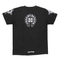 87ce0dd87c29 Chrome Hearts T-shirt 2013 Black Swords Cross Black Cheap Factory Color   Black.