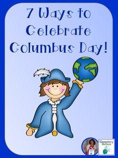 Elementary Matters: 7 Ways to Celebrate Columbus Day