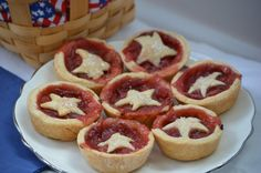 1 Strawberry Rhubard Pie | Champagne Frosting