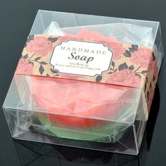 100 Transparency Square Soap,candle,candy,multipurpose Gift Packing Box